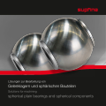 Spherical finishing